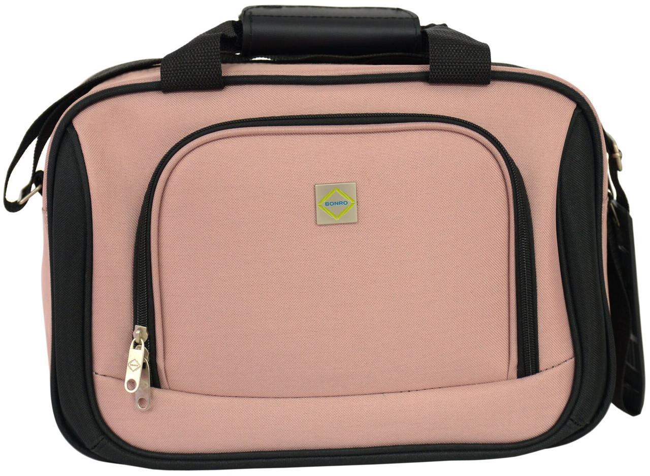 Дорожная сумка Bonro Best розовая (10080403)