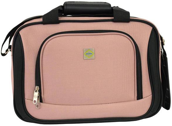 Дорожная сумка Bonro Best розовая (10080403), фото 2