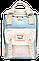 Женский городской рюкзак Doughnut Macaroon пудра Код 10-5558, фото 3