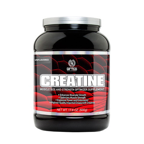 Creatine (500 g, unflavored) Gifted Nutrition