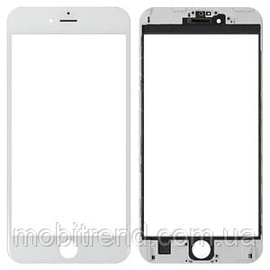 IPhone6 Plus glass + OCA Film with frame white