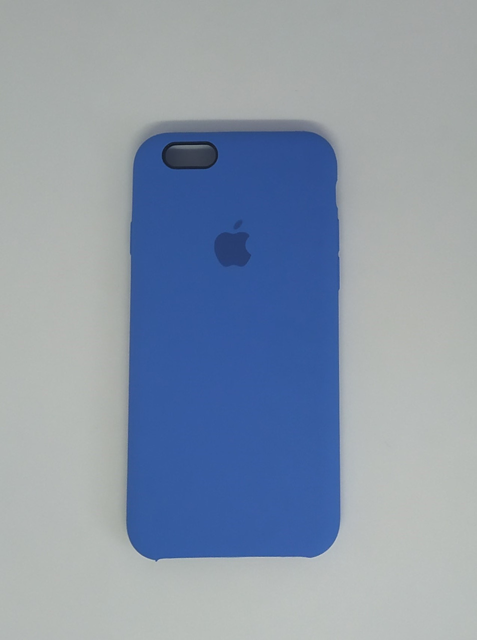 "Чехол - Silicon Case для iPhone ""Небесно синий - №3"" - copy orig."