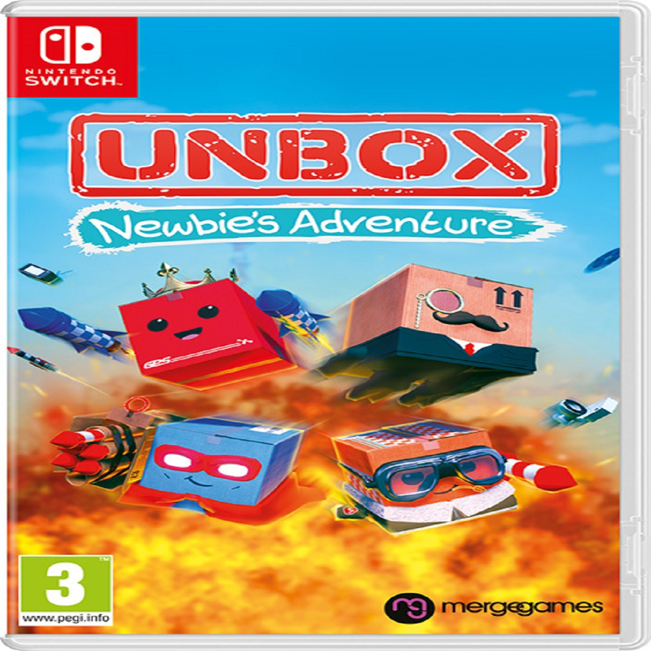 Unbox: Newbie's Adventure ENG Nintendo Switch