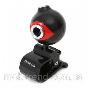 Веб-камера OMEGA Red с микрофоном 12 MPx оригинал Польша