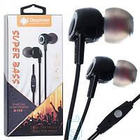 Наушники с микрофоном Deepbass D153 черные