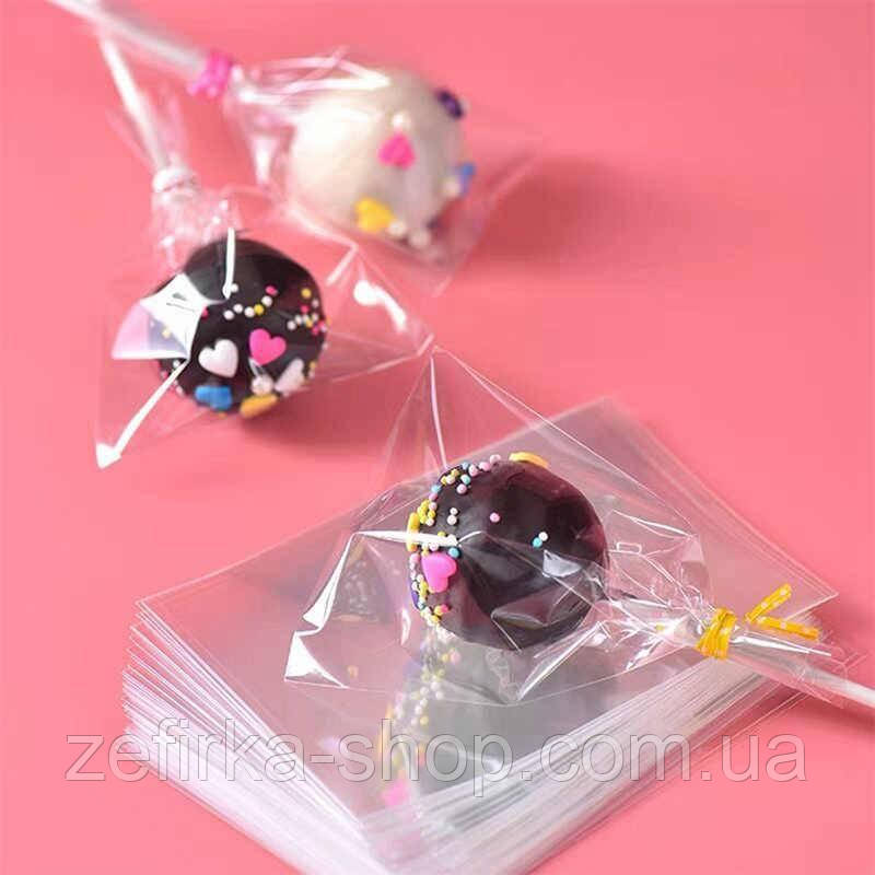 Пакет прозрачный 8* 12 см, 100 штук  для конфет