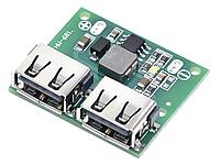 Понижающий преобразователь два USB DC-DC 6-26 В на 5В 3А