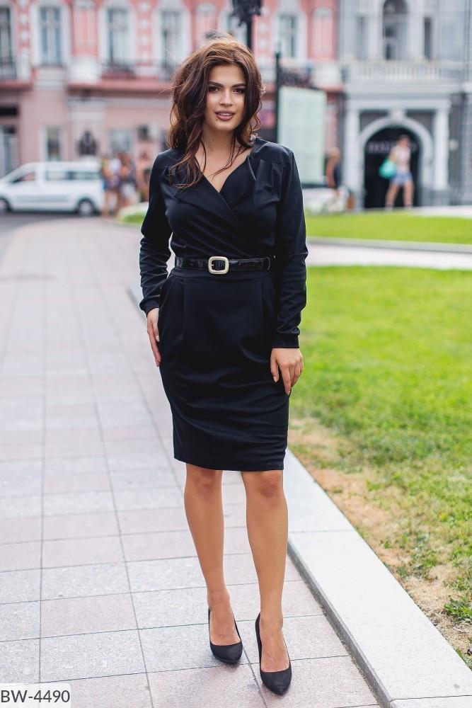 Стильное платье   (размеры 48-54) 0209-22