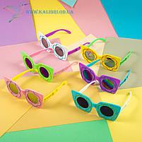 """Детские солнцезащитные очки """"Ромашка"""" 6 цветов, фото 2"""