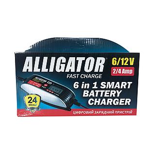 Зарядний пристрій Alligator AC-812 (6/12V), фото 2