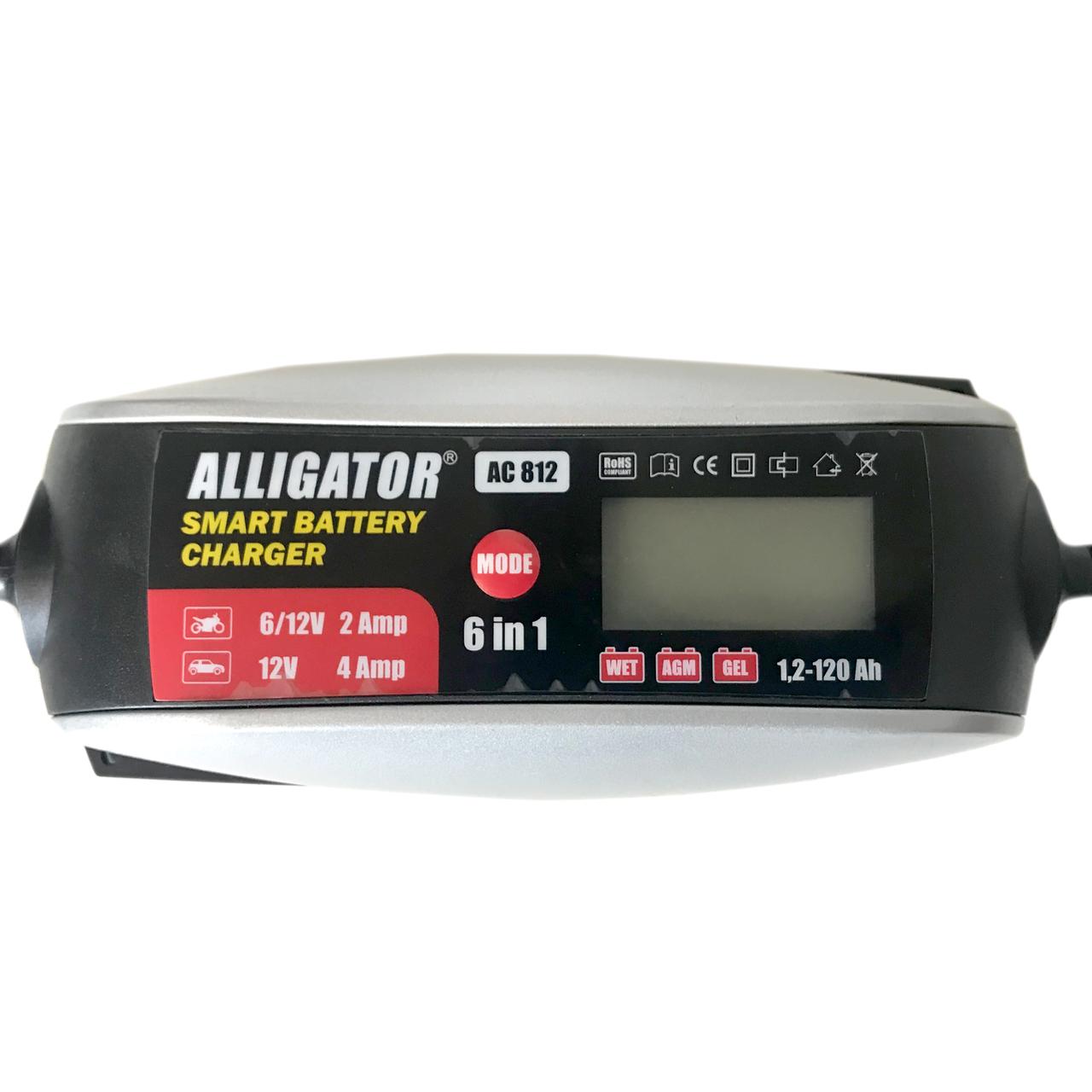 Зарядний пристрій Alligator AC-812 (6/12V)