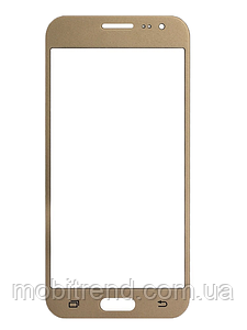 Стекло дисплея Samsung J200 J2 Gold (для переклейки)