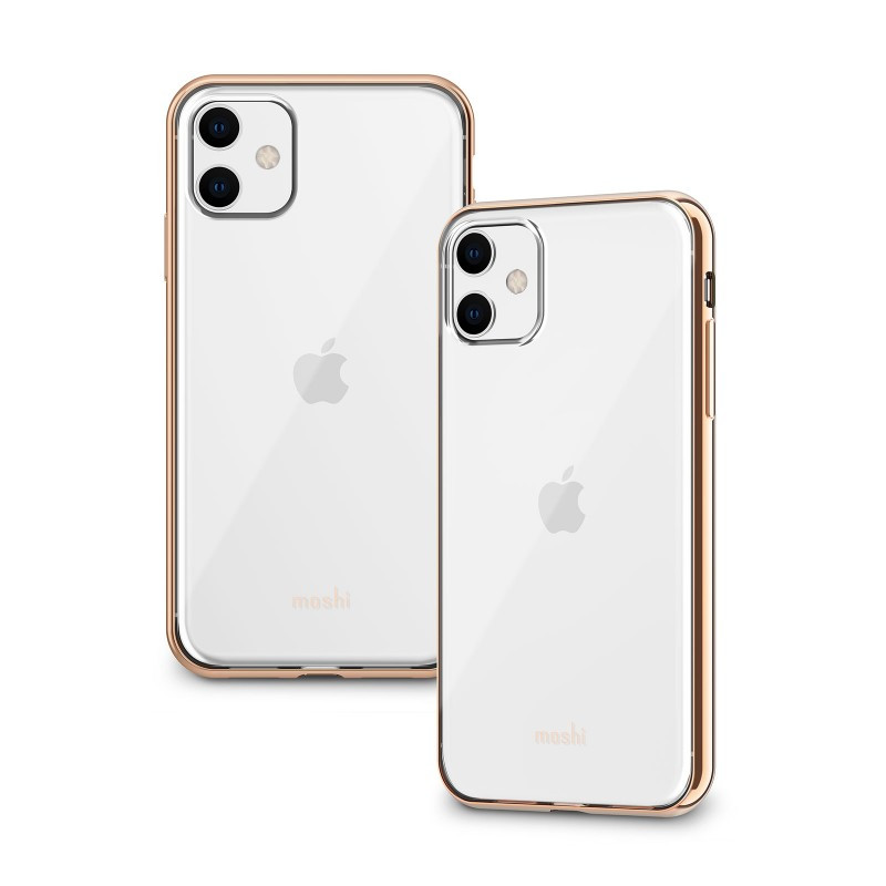 Moshi Vitros Slim Clear Case Champagne Gold for iPhone 11 (99MO103304)