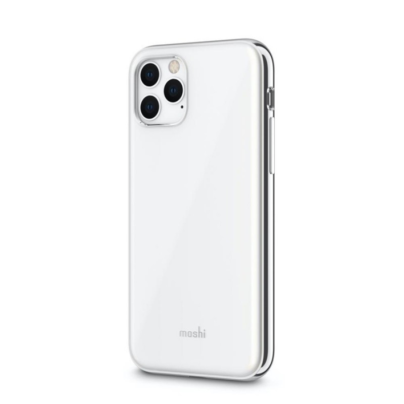 Moshi iGlaze Slim Hardshell Case Pearl White for iPhone 11 Pro (99MO113103)