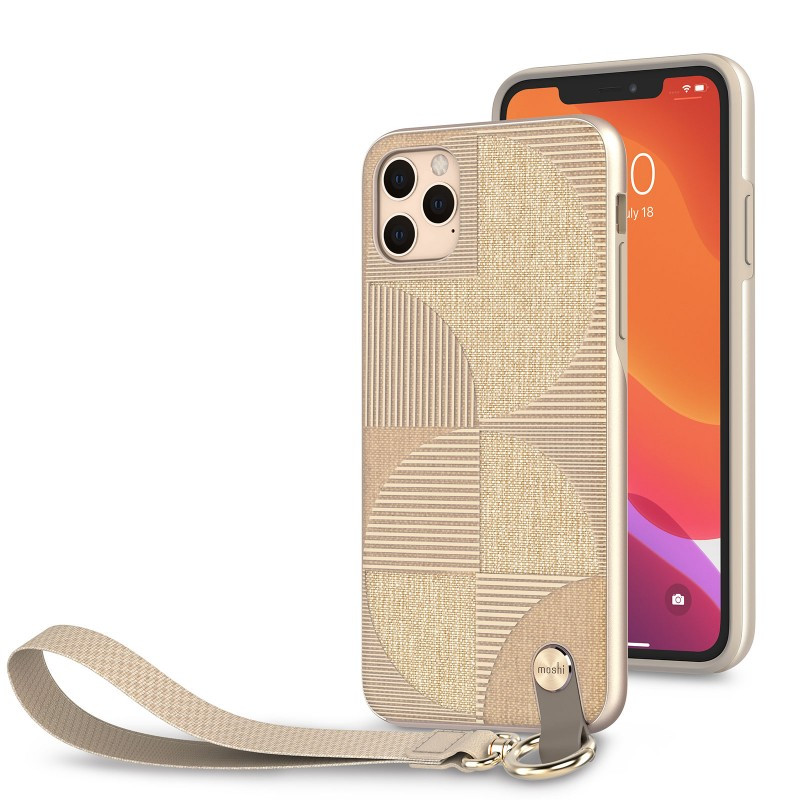 Moshi Altra Slim Case with Wrist Strap Sahara Beige for iPhone 11 Pro Max (99MO117305)