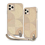 Moshi Altra Slim Case with Wrist Strap Sahara Beige for iPhone 11 Pro Max (99MO117305), фото 2