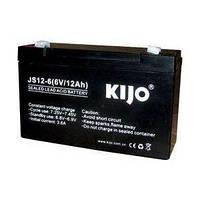 Аккумулятор AGM 6В 12Ач Kijo JS 6-12