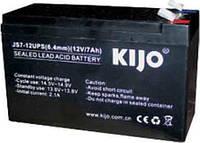 Аккумулятор AGM 12В 7Ач Kijo JS 12-7