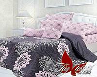Комплект постельного белья евро ренфорс с компаньоном R7048