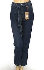 Жіночі джинси Mom jeans з поясом, фото 3