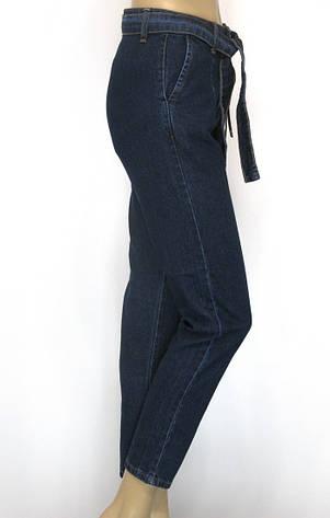 Жіночі джинси Mom jeans з поясом, фото 2