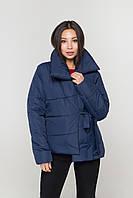 Тая куртка короткая плащевка(светло серый), фото 1