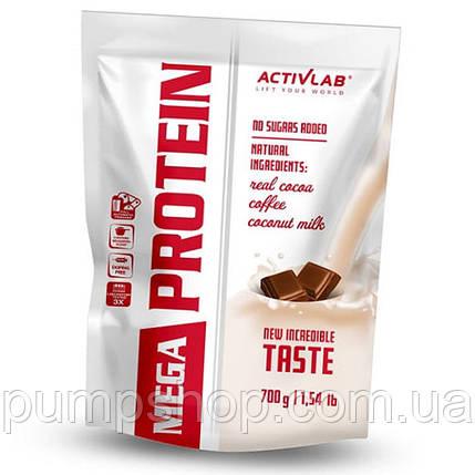 Концентрат сироваткового білка ActivLab Mega Protein 700 г, фото 2