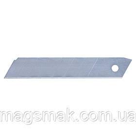 Лезвия сменные прямые 100×18×0.4мм 7 сегментов 10шт Grad (8219105)