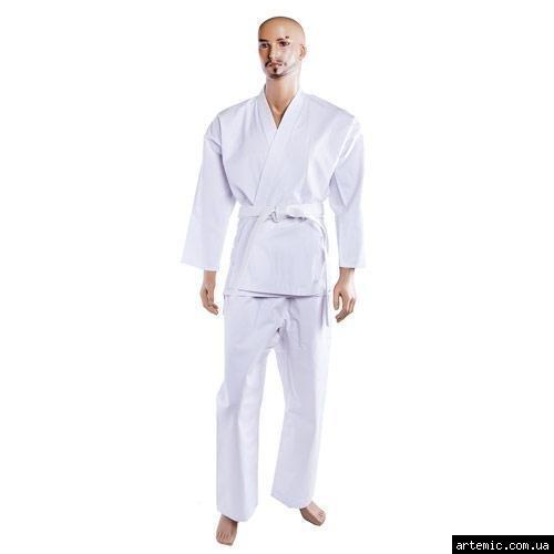 Кимоно для карате Сombat белое 8oz  150