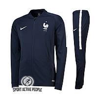 Спортивный костюм сборной Франции (тренировочный), сезон 2018-2019