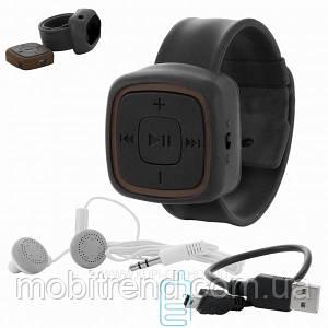 MP3 плеер с браслетом Черный