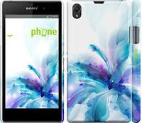 """Чехол на Sony Xperia Z1 C6902 цветок """"2265c-38"""""""
