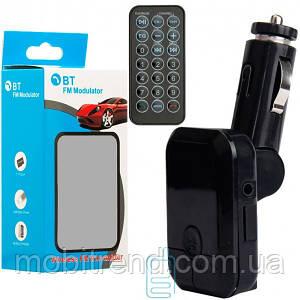 FM модулятор трансмиттер S9 + Bluetooth черный
