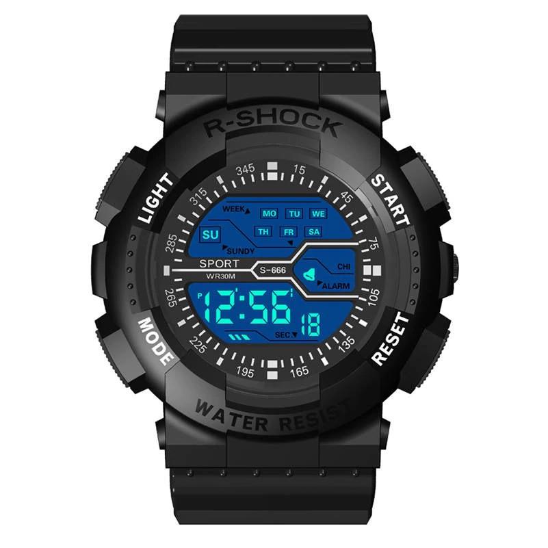 Стильні спортивні чоловічі годинники електронні