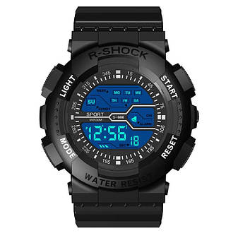 Стильні спортивні чоловічі годинники електронні, фото 2