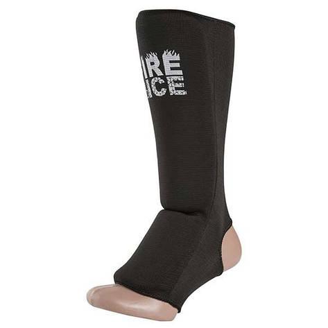 Защита ноги FIRE&ICE, х/б, эластан, черный, размер S, mod 1035, фото 2