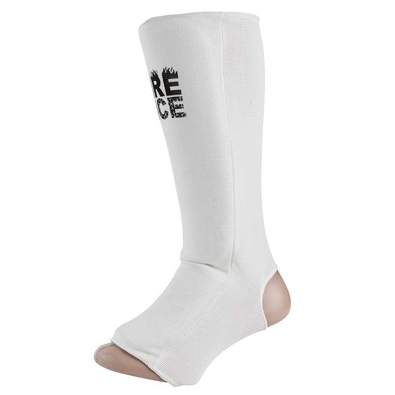 Защита ноги FIRE&ICE, х/б, эластан, белый, размер L