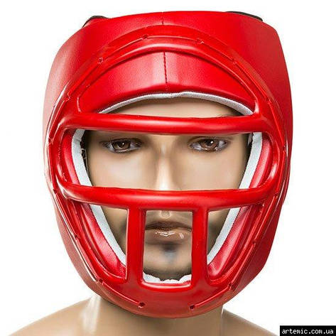 Шлем Ever, маска, размер L красный, фото 2