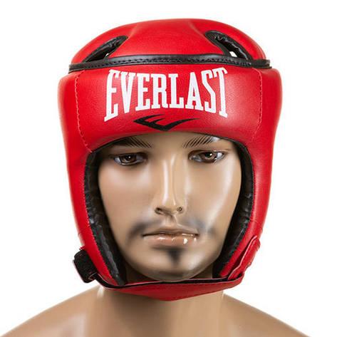 Шлем Ever, открытый, Flex, размер S красный, фото 2