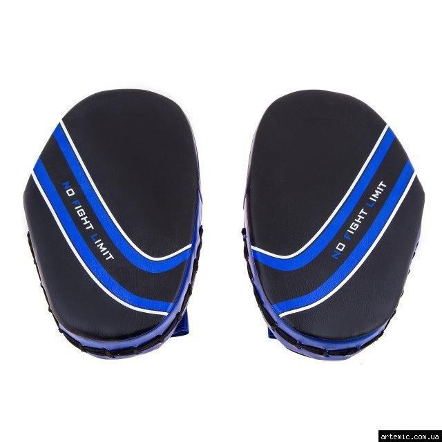 Лапа малая NoFightLimit PVC сине-черная