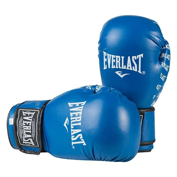 Боксерские перчатки Ever, DX-2218, 8oz синий