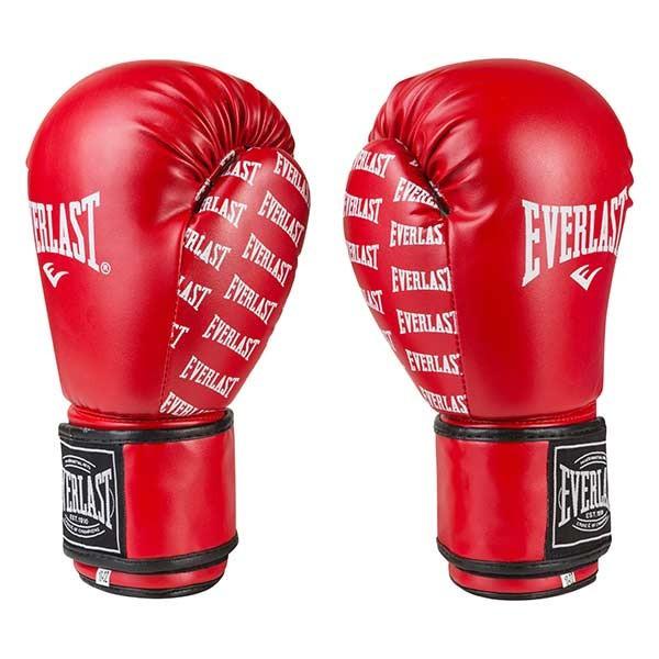 Боксерские перчатки Ever, DX-2218, 12oz, красный