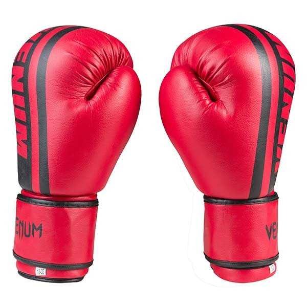 Боксерские перчатки Venum, PVC-19, 12oz красный