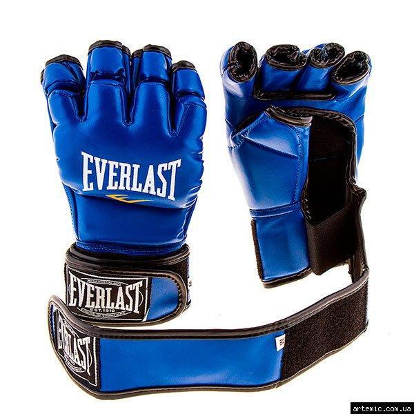Рукопашные перчатки винил Everlast  Синий, S