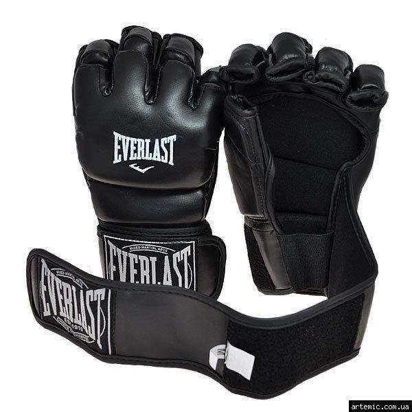 Рукопашные перчатки винил Everlast  Чёрный, L