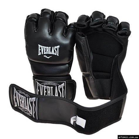Рукопашные перчатки винил Everlast  Чёрный, XL, фото 2