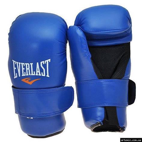 Перчатки Everlast KungFu,ММА,Тхеквондо,DX,Flex  Синий, M, фото 2