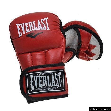 Рукопашные перчатки PVC Everlast 415 Красный, XL, фото 2