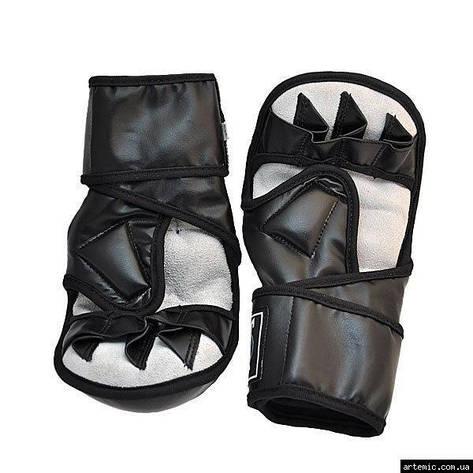 Рукопашные перчатки PVC Everlast 415 Чёрный, XL, фото 2