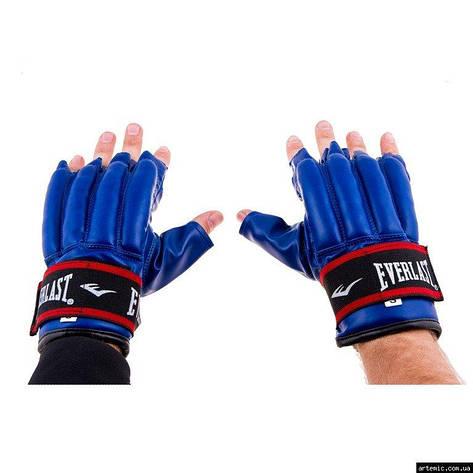 Перчатки сосиски Everlast DX RexionStrap S синий, фото 2